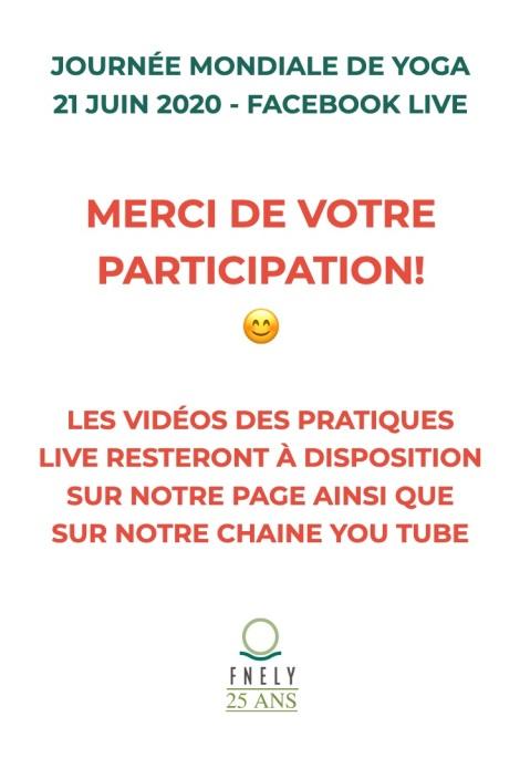 merci participation et video dispo