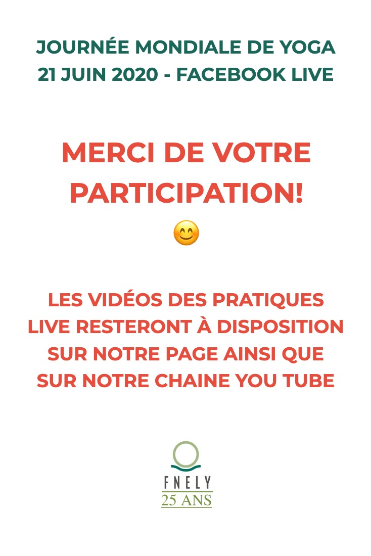 merci participation et video dispo